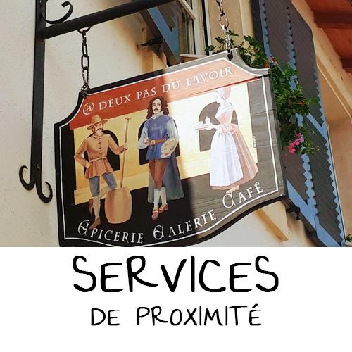 SERVICES DE PROXIMITÉ