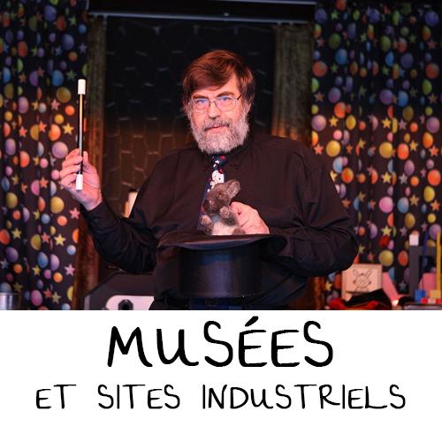 MUSÉES ET SITES INDUSTRIELS